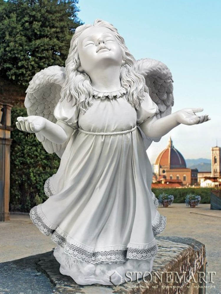 1. Скульптура Ангелочек