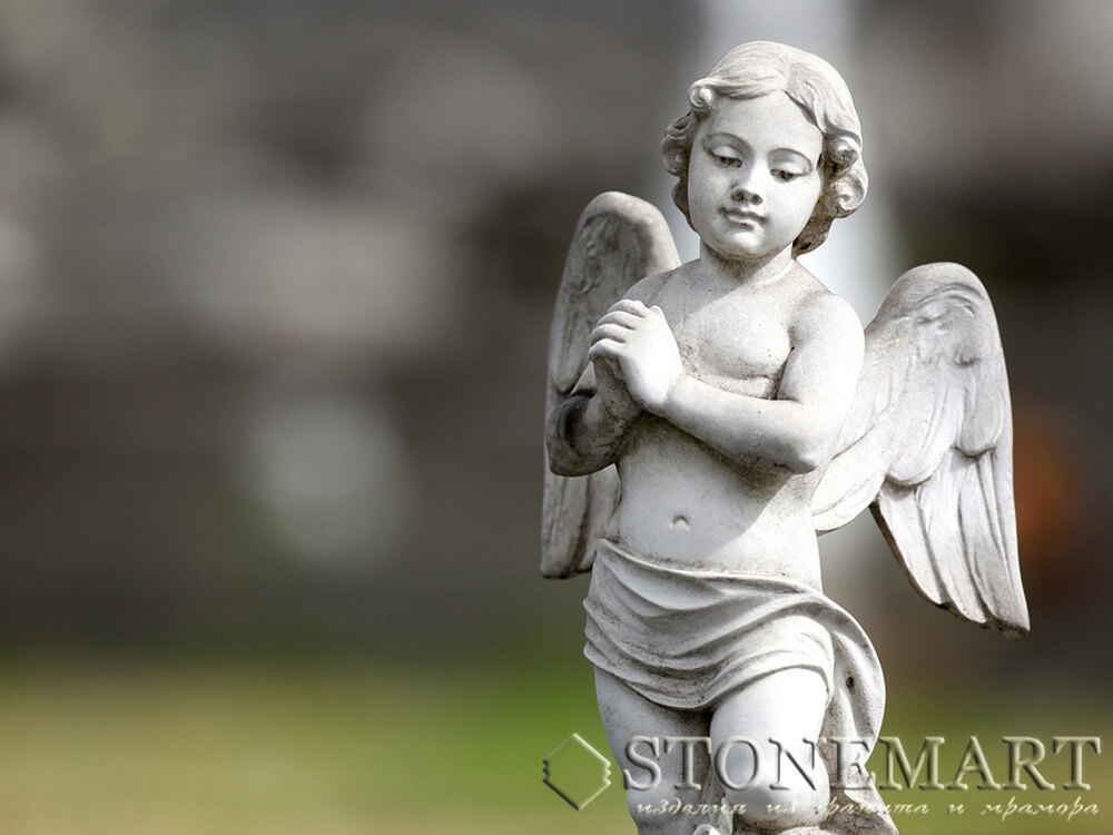 7. Скульптура: Маленький ангел