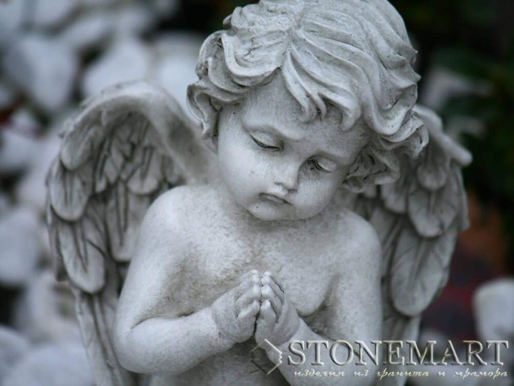 9. Скульптура Ангелочек