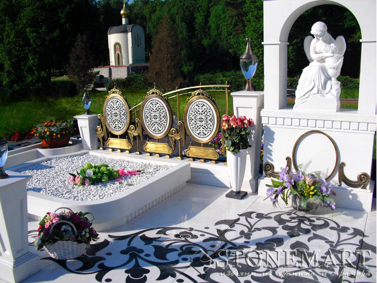 Мемориальный комплекс из мрамора №25