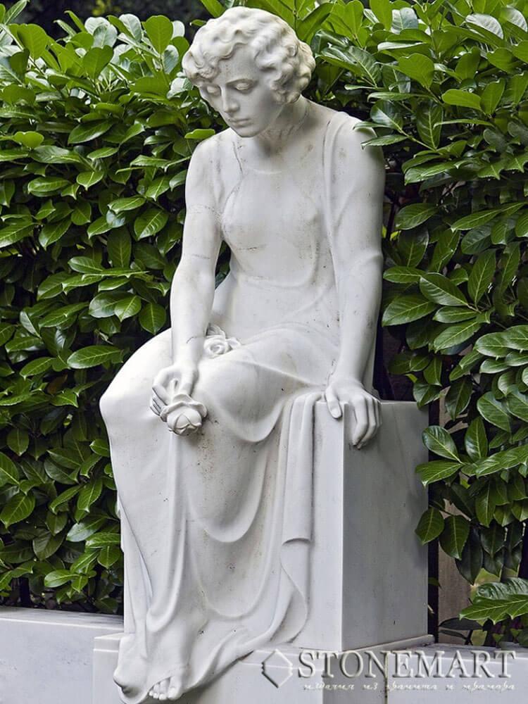 29. Скульптура дамы