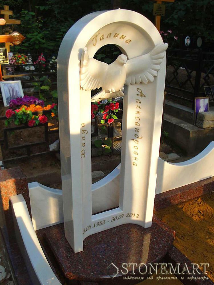 Памятник из мрамора №48