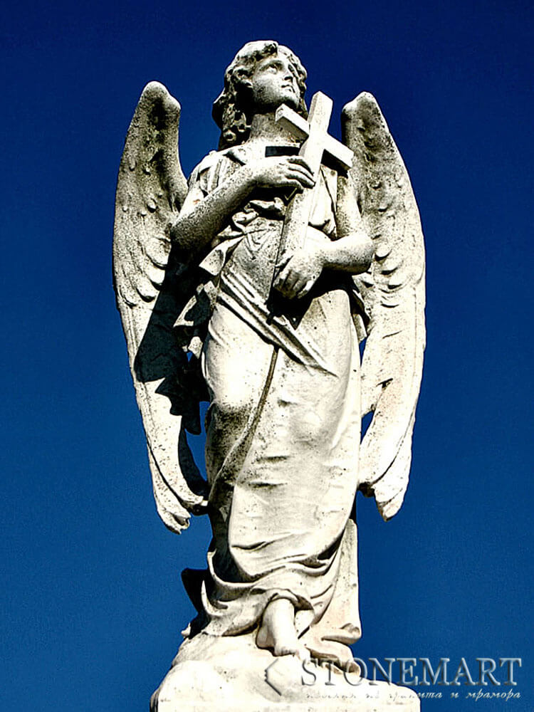 38. Скульптура: Ангел хранитель