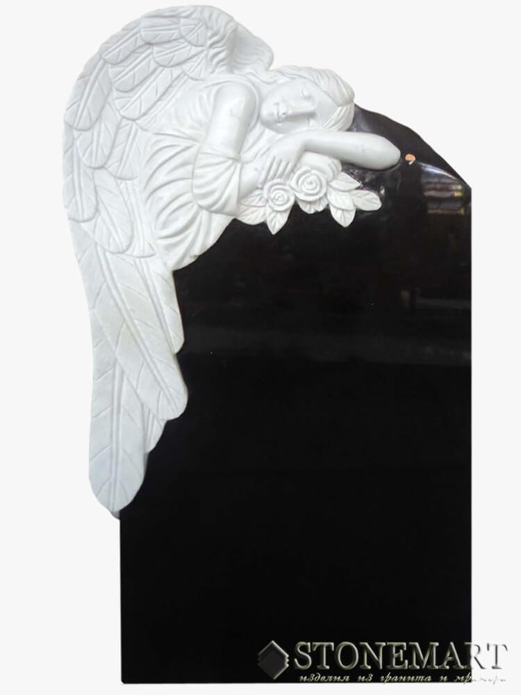 56. Рельеф скорбящий ангел