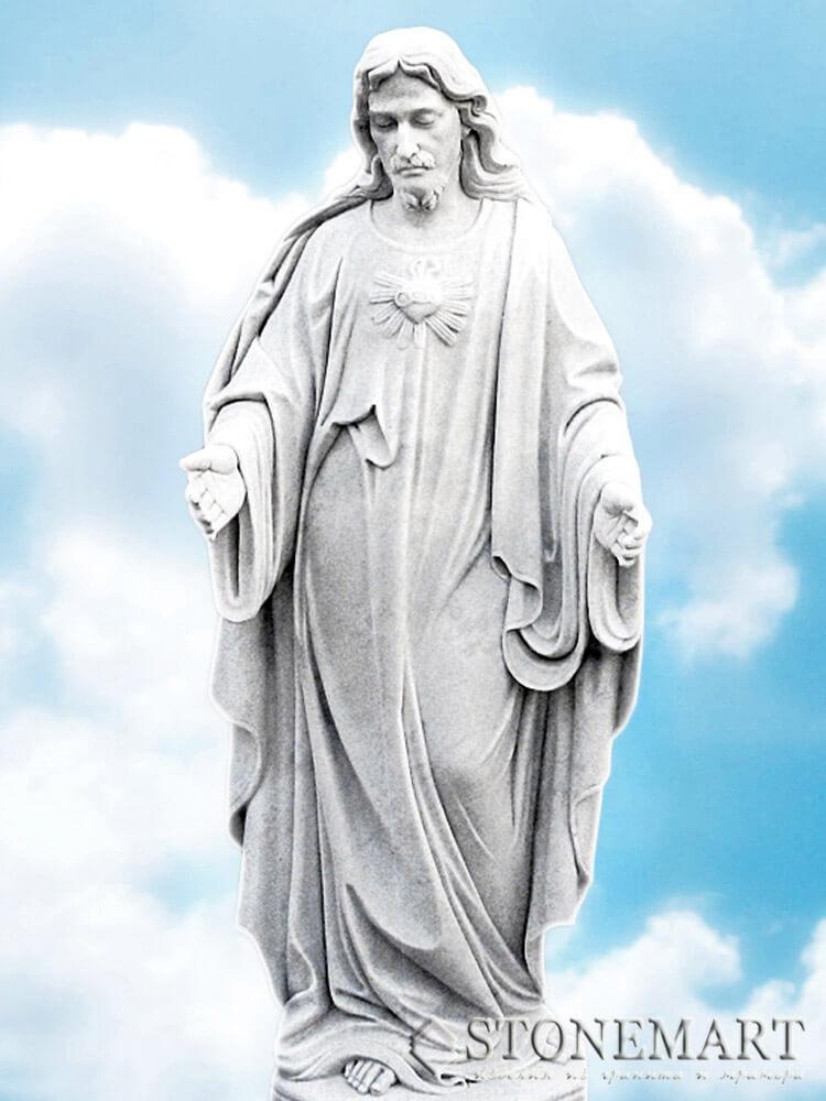 63. Скульптура Христа
