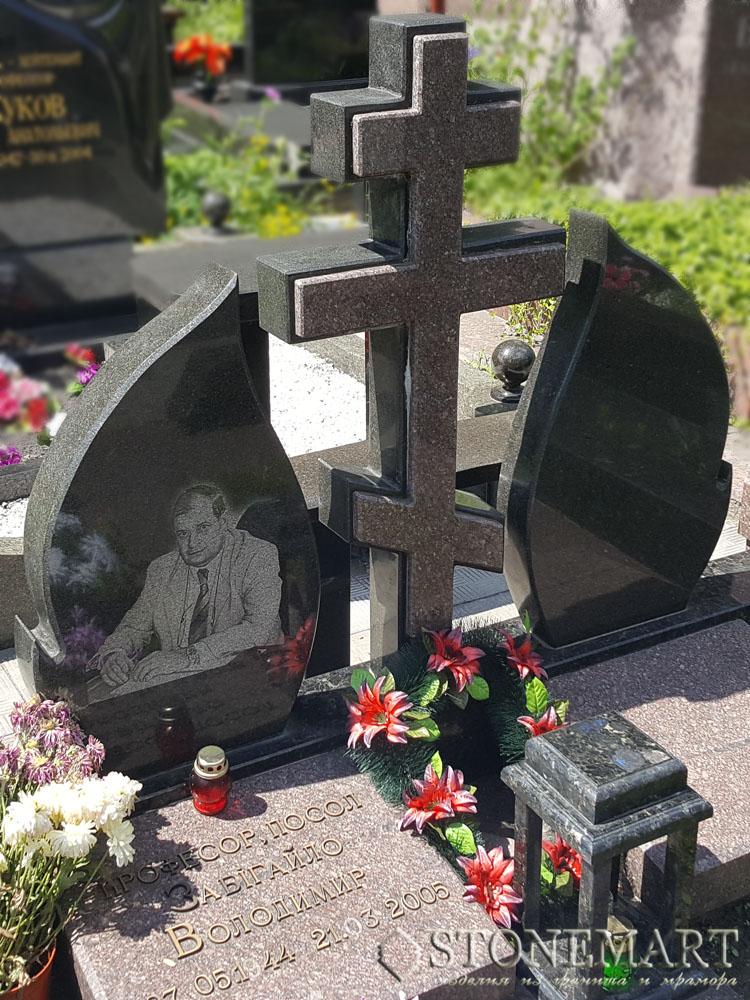Памятники с крестом №74