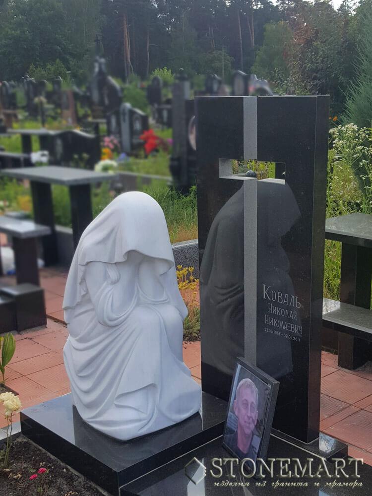 65. Плакальщица у могилы