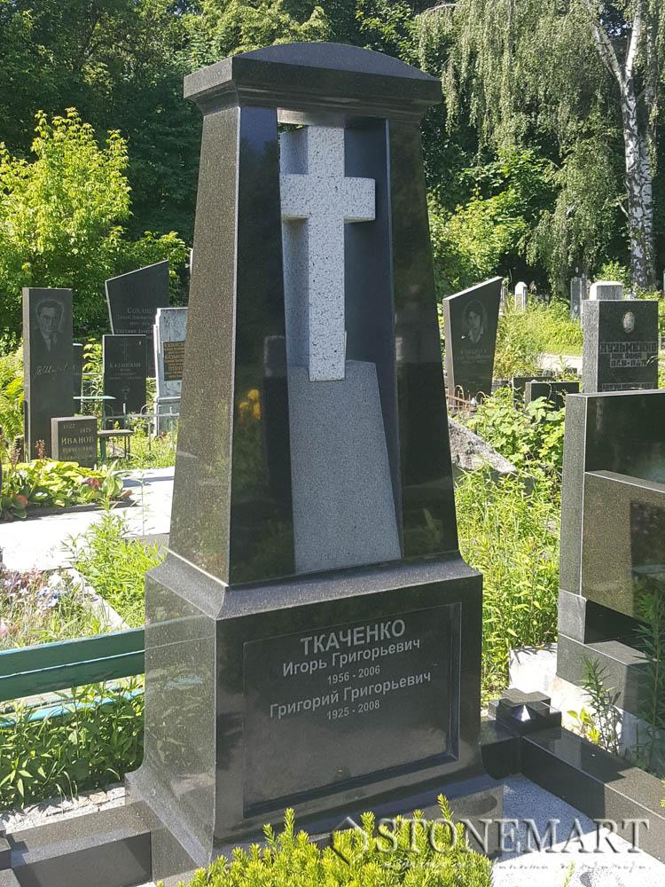 Памятник с крестом №12