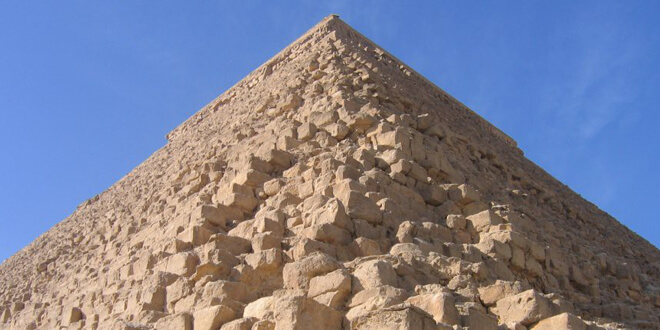 пирамида из песчаника