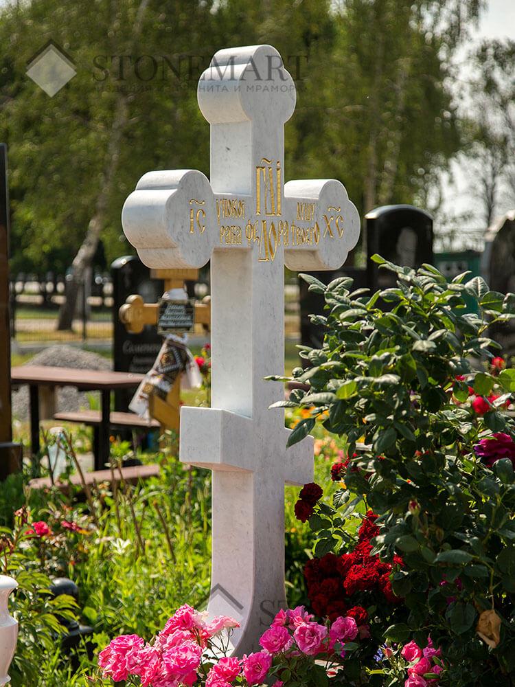 Крест из мрамора №53